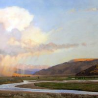 Lamar Valley Evening Rain