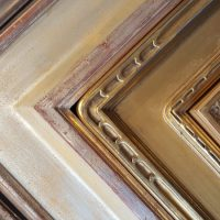 Custom Gold and Silver Leafed Mouldings