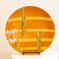 Gold Round Bowl