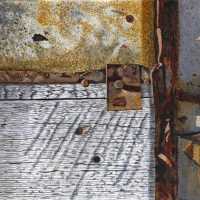Circa 1880 - Hay Barn Door - Detail #2