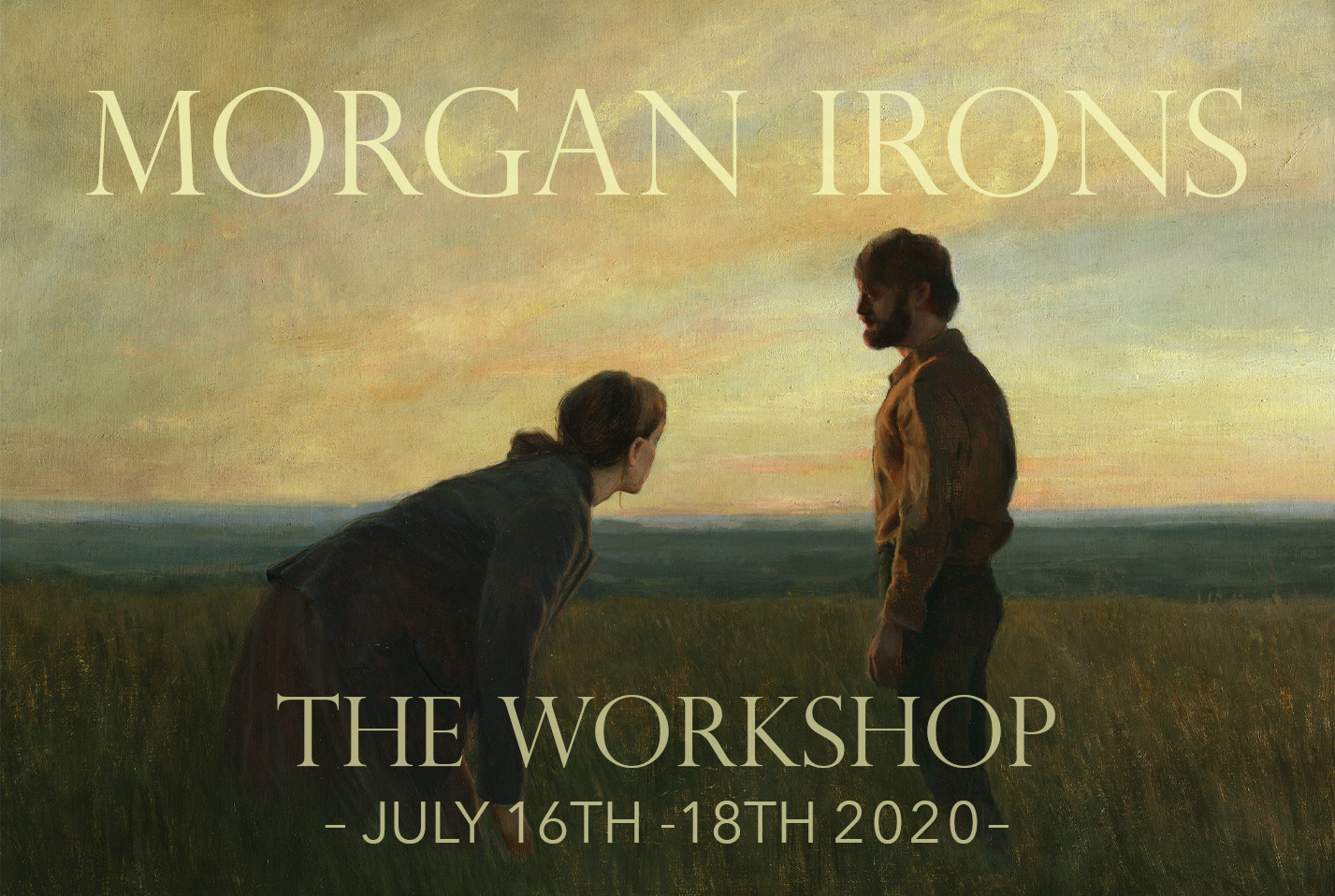 Morgan Irons Workshop event page picture